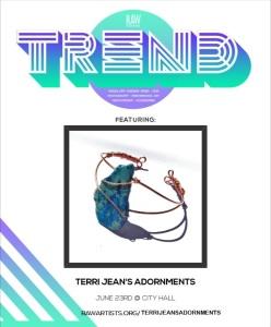 Terri Jeans Adornments-POSTER
